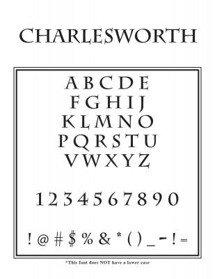 Outside Circle Font