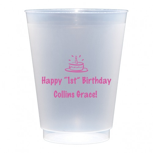 0f91b2a96a607 Personalized 16 oz. Shatterproof Plastic Cups