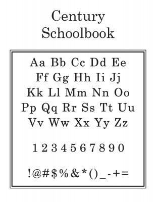 Center Initial Font