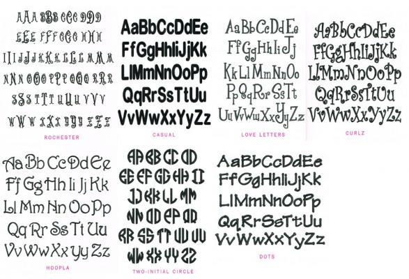 Letter Chart 3