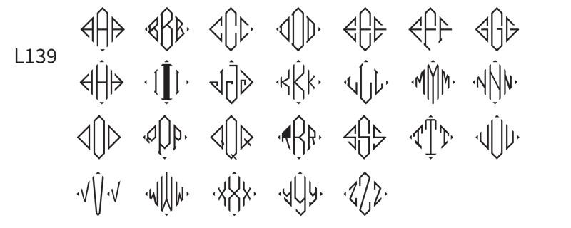 delavan monogram foil stamped beverage napkins