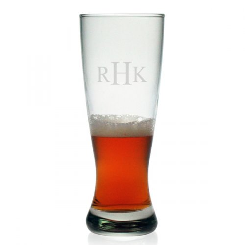 Personalized Grand Pilsner Glasses - Set of 4