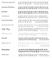 Font Charts 2