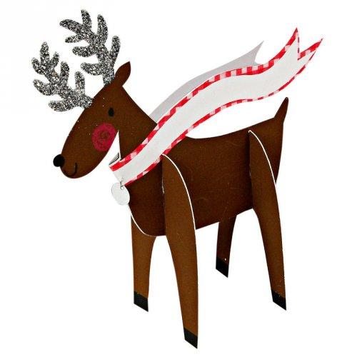 Reindeer pop-up placecards