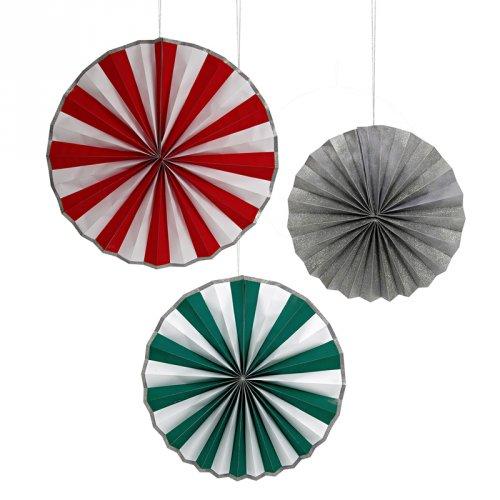 Be Jolly Giant Pinwheel Decorations