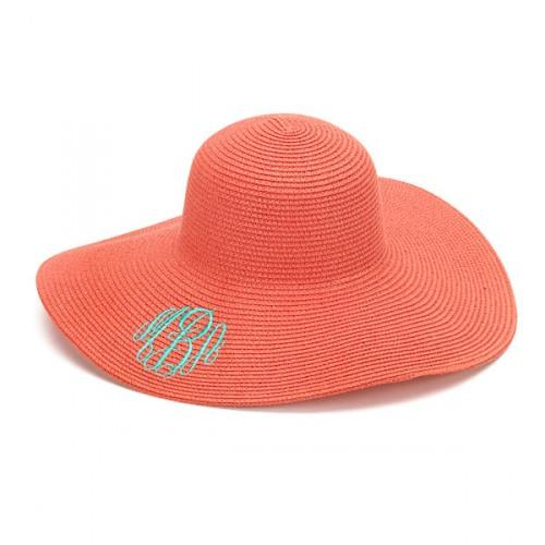 Coral Adult Floppy Hat 2d6fca57896