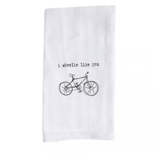 I Wheelie Like You Tea Towel