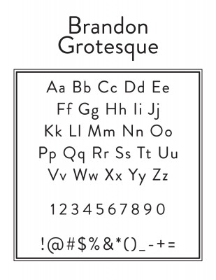 Top Names And Address Font