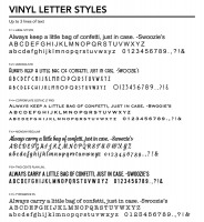 Letter Styles 1