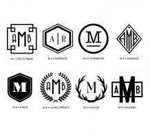 Luxe Monogram 1
