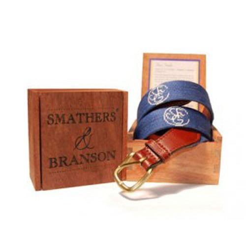 Sewanee Needlepoint Belt by Smathers /& Branson