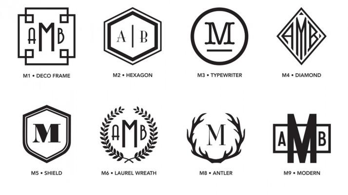 Luxe Monograms