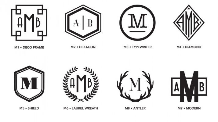 Luxe Monograms 1