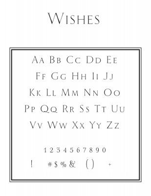 Top Address Font