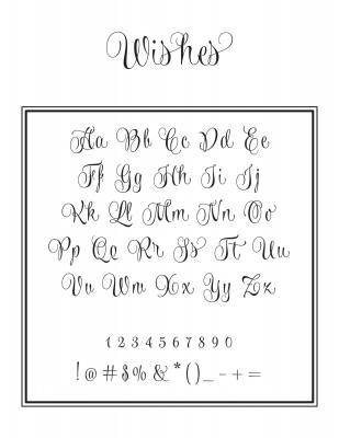 Left Initial Font