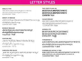 Text Styles