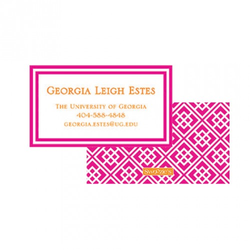 Exclusive sorority recruitment business cards colourmoves