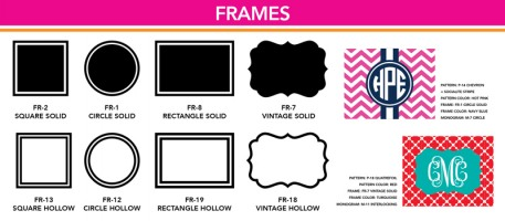 Frame Options
