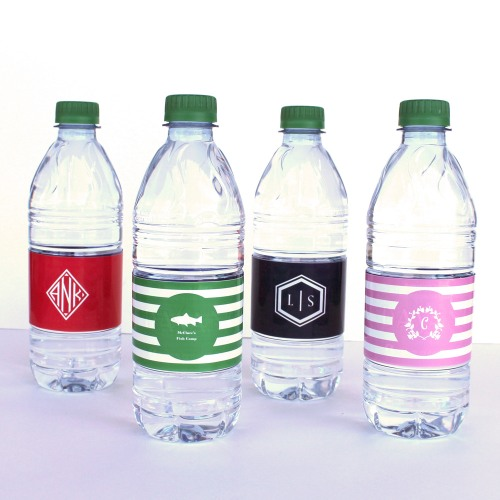 Personalized Water Bottle Labels