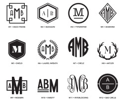 Monogram Styles 1