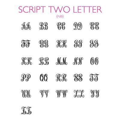 Script 2 Letter