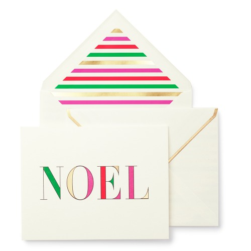 Kate spade new york noel holiday greeting cards m4hsunfo