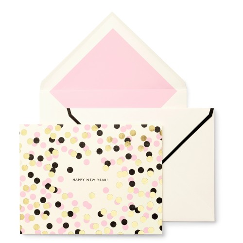 Kate spade new york happy new year holiday greeting cards m4hsunfo