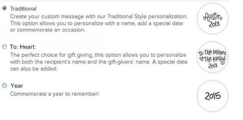 Personalization Styles