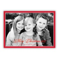Red Border W/red Foil