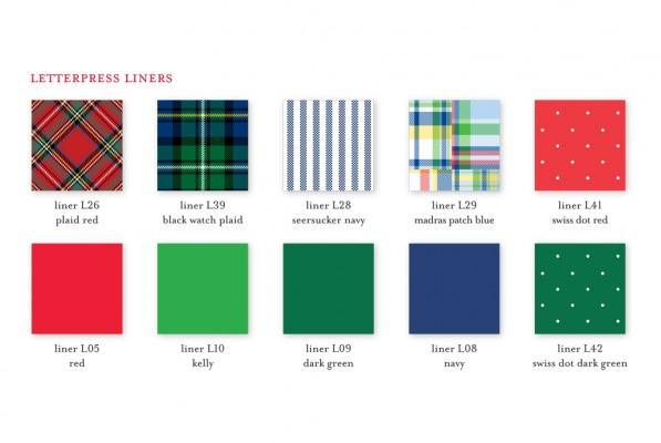 Letterpress Envelope Liners