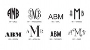 Luxe Monogram 2