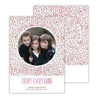 Red With Hot Pink Foil