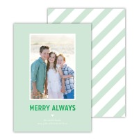 Mint With Green Foil