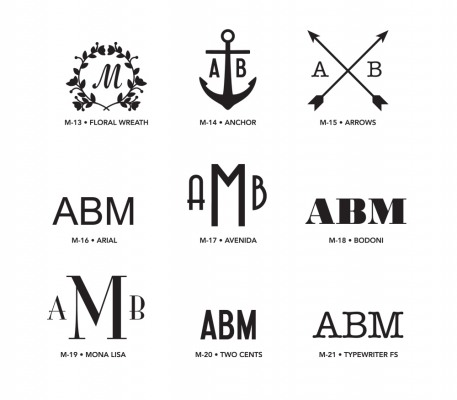Monogram Styles 2