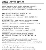 Letter Styles 1