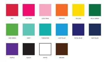 Vinyl Colors 1