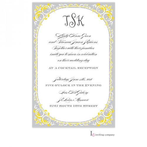 Waki Stationery Notebook Executive Size 16 16 Three Sets: Classic Trim Invitation
