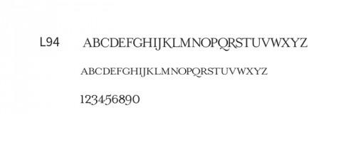 Font Line 2