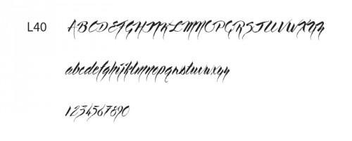 Font Line 1