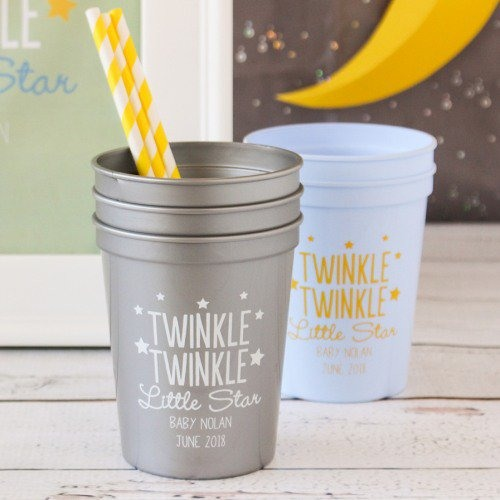 2186a7c9eaa Personalized Baby Shower Stadium Cups