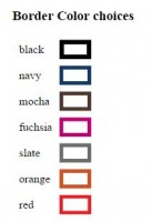 Border Colors