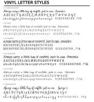 Letter Styles 2