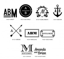 Luxe Monograms 2