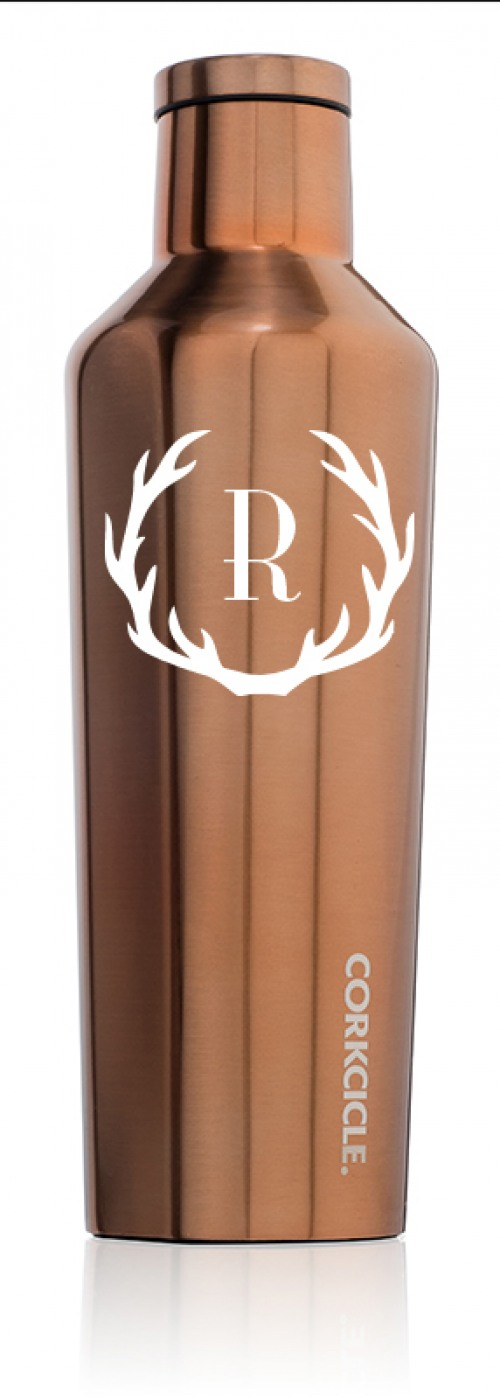 The Corkcicle Vinnebago Is A Wine Canteen That Can: Corkcicle Metallic Copper 16oz Canteen