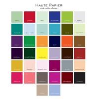 Letterpress Ink Colors