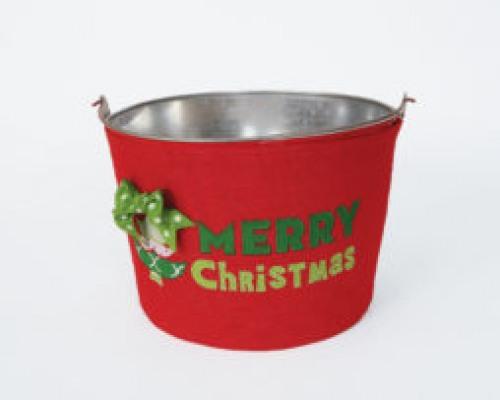 Whimsical Christmas Tree Drink Tub