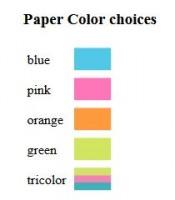 Paper Colors