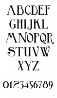 Font For Single Initial