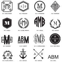 Monograms Styles 1