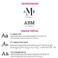 Free Personalization Fonts